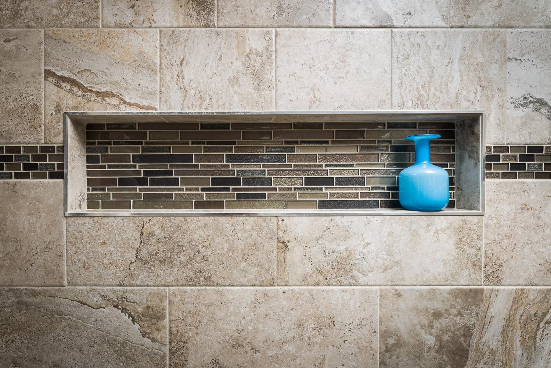 Bathroom Remodel Arcadia Shower Detail