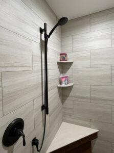 Image of Awaken Slide Bar in shower by Bath Fixer of La Crosse